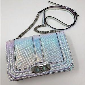 Rebecca Minkoff   Small Love Crossbody Hologram
